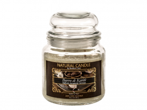 Nature Candle Candela Profumata Muschio Bianco, 100% Cera Ve