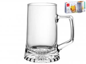 Confezione 2 Bicchieri In Vetro Stern Con Manico 0,4 Cl51