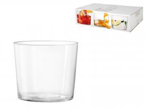 H&h Set 6 Bicchieri In Vetro Starck Liquore Cc 190