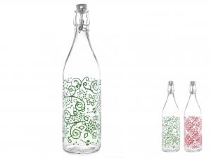 Bottiglia Vetro H&h Dec Ellen Lt1
