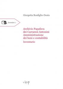 Archivio Papafava dei Carraresi Antonini. Amministrazione dei beni e contabilità