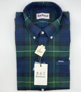 Camicia Barbour, flanella di cotone