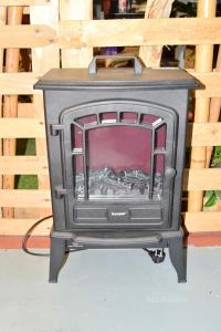 Caminetto Elettrico Kooper ( Fa Anche Caldo ) 60x23x38 Cm