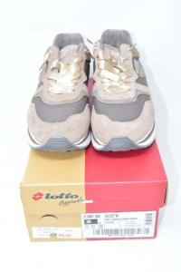Shoes Woman Lotto Beige N° 39