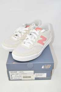 Shoes Woman New Balance N° 36.5 White Beige Pink