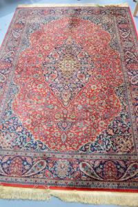 Carpet Red Blue 240x170 Cm