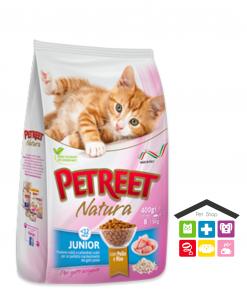 PETREET -SECCO 1,5KG JUNIOR POLLO E RISO