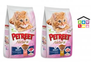 PETREET -SECCO 1,5KG adult POLLO E RISO/TONNO E RISO