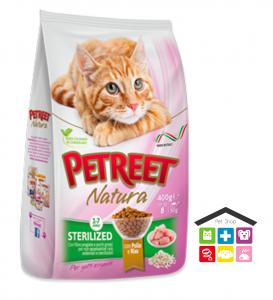 PETREET -SECCO 1,5KG adult STERILISED POLLO E RISO