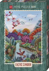 Heye 29956 -Exotic Garden puzzle 500 pz Plant Paradise