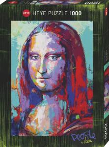 Heye 29948-People puzzle 1000 pz Mona Lisa