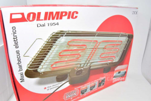 Barbecue Electric Olimpic Butxigrill 2200 Watt New With Sicura