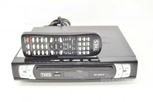 Lettore Dvd Mini Thes Funzionante Con Telecomando