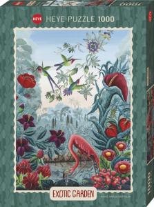 Heye 29957-Exotic Garden puzzle 1000 pz Bird Paradise