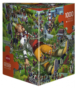 Heye 29886 -Triangular puzzle 1000 pz Gulliver