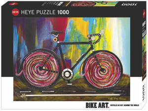 Heye 29950-Bike Art puzzle 1000 pz Momentum