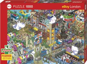 Heye 29935-Pixorama E-boy puzzle 1000 pz London