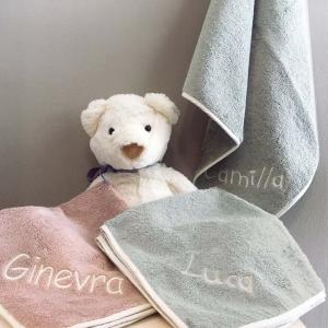 Asciugamano Neonato - Personalizzabile