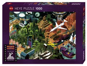 Heye 29883-Movie Masters puzzle 1000 pz Steven Spielberg Films