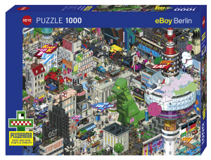 Heye 29915 Pixorama puzzle 1000 pz Berlin Quest