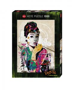 Heye 29684 -People puzzle 1000 pz Audrey