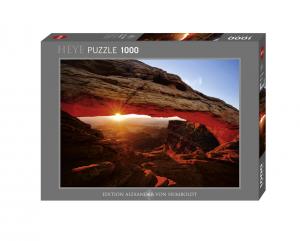Heye 29594 Von Humbold puzzle 1000 pz Mesa Arch