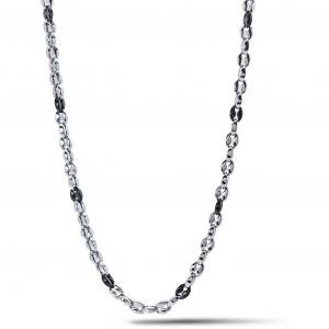 Girocollo uomo in acciaio Comete Chain UGL705