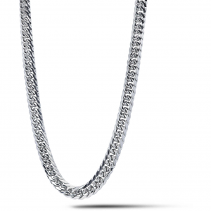 Girocollo uomo in acciaio grumetta Comete Chain UGL704