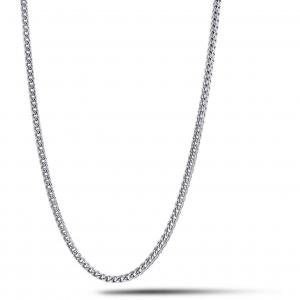 Girocollo uomo in acciaio grumetta Comete Chain UGL706