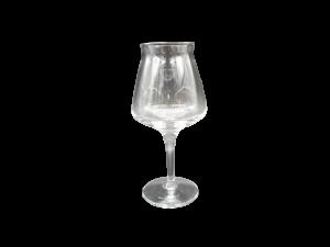 Brandani 2 calici birra vetro trasparente degustazione 42cl