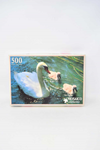 Puzzle Mosaic By Clementoni Swan 500 Pieces