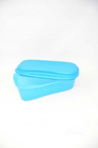 Cook Paste Tupperware In Plastic Light Blue 31x18 Cm