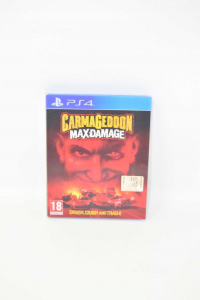 Video Game Ps4 Carmageddon Butxdamage