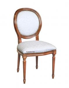 PROMO ! Chaise Louis XVI dossier médaillon - Livraison rapide