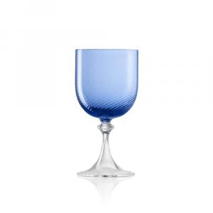 Calice Vino Rosso 3/62 Rigadin Ritorto Blu