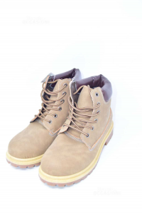 Stivaletto Unisex N 41 Color Taupe Nuovo