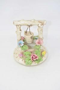 Pozzo In Ceramica Di Bassano H 15 Cm