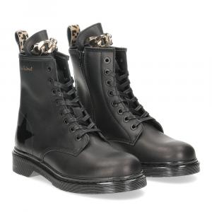 Nira Rubens boot Bloody Mary BMST43 stella chain gold