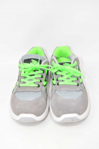 Shoes Accident Prevention U-power Wow Gray Green N° 37