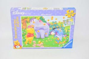 Puzzle Disney 2x20 Pieces Winnie The Pooh