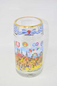 Beer Mug Glass Oktoberfest 2003