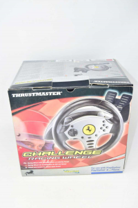 Accessory Thrustmaster Challenge Racing Wheel Per Ps 2 Steering Wheel + Pedal