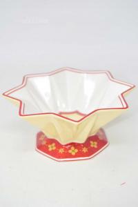 Ciotolina Villeroy&boch 1748 In Ceramica Collezione Natalizia Rosso Bianco