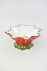 Ciotolina Villeroy&boch 1748 In Ceramica Collezione Natalizia Rosso Verde