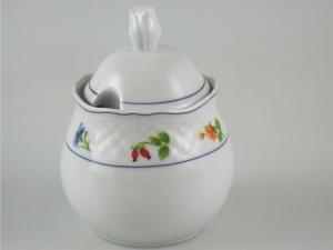Zuccheriera In Porcellana Manico Teresa Lmk1621 Lt0,3