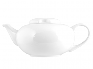 Teiera Porcellana Oslo Bianco Lt1,2