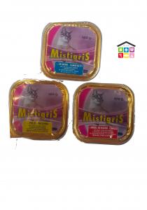 Morando Mistigriss 0,100g salmone e gamberetti, pollo e tacchino,manzo selvaggina e coniglio