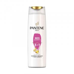 PANTENE Shampoo + Balsamo Ricci Perfetti 3 in 1 225 ml