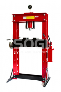 Pressa idraulica manuale SOGI P50-MD da pavimento con pompa da 50 Ton