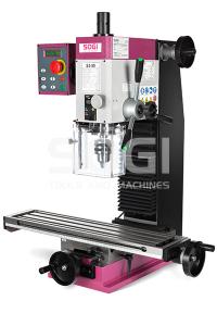 Fresatrice trapano fresa da banco SOGI S3-50 motore Brushless in CC dispositivo di maschiatura